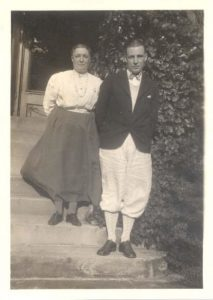 Marion E. Sparks with an Unknown Man