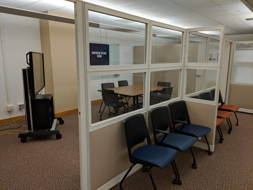 Reserve Design Space Reserve conference rooms & presentation spaces. Available during Library hours.