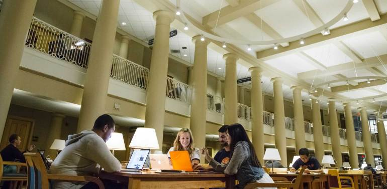 Grainger Engineering Library, Great Hall