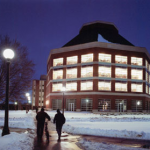 Funk ACES building in winter