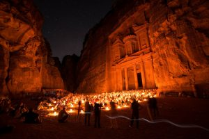 Historical city of Petra in Jordan's Ma'an Governorate