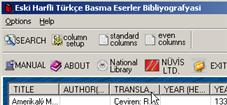 Screenshot showing link to Turkish National Library website