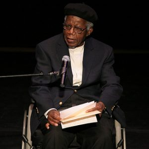 Picture of Nigerian professor of African Studies Chinua Achebe