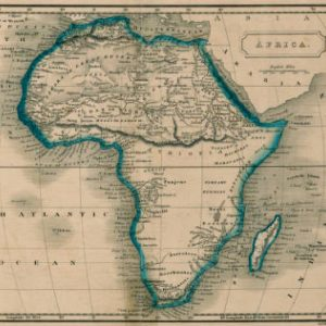 """Africa"" (1822) Image from the Maps of Africa to 1900 collection"