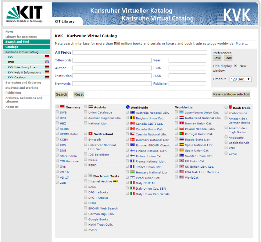 Slavic Library Catalog Resources – International and Area