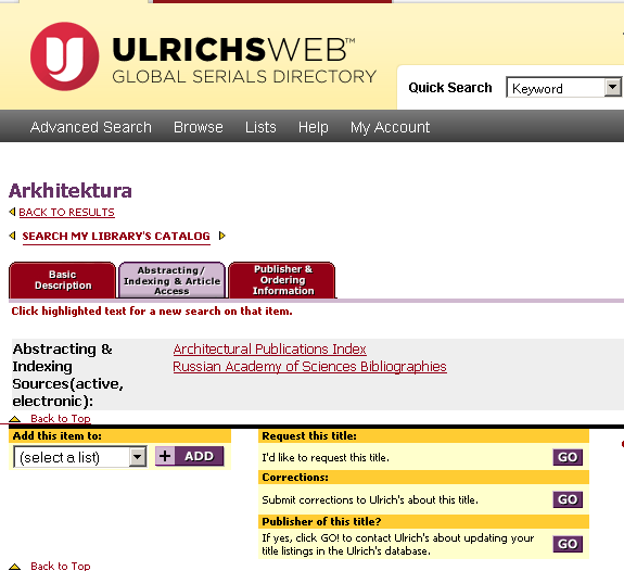 Periodical Indices – International and Area Studies Library