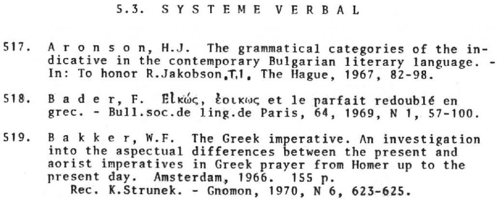 General Resources for Slavic Linguistics – International and