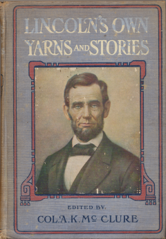 Book cover for Lincoln's yarns and stories