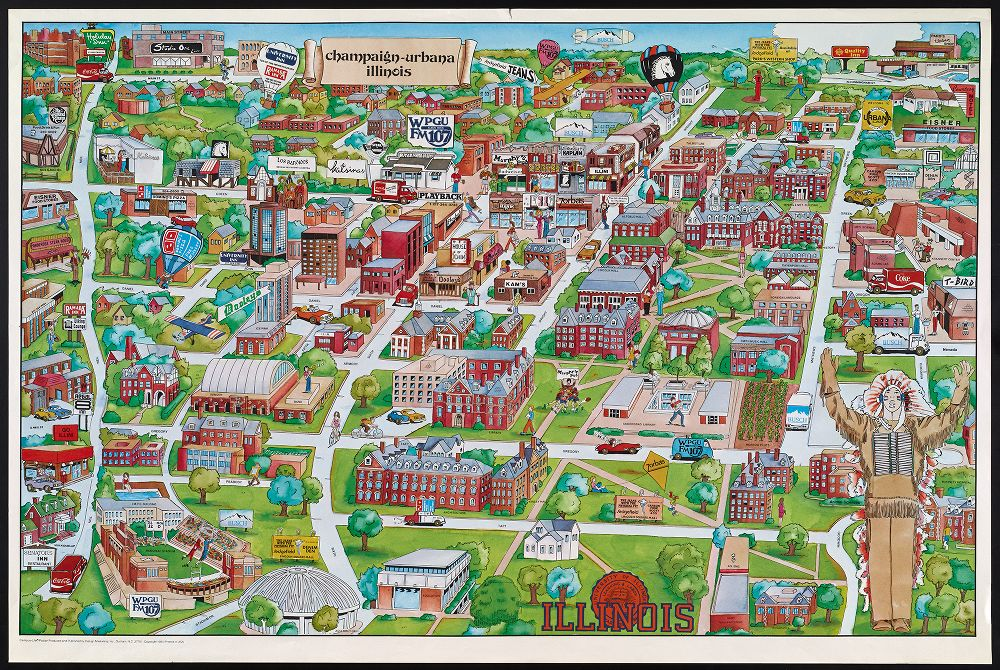 University Of Illinois Campus Map Geography 412: Geospatial Technology and Society (Fall 2017