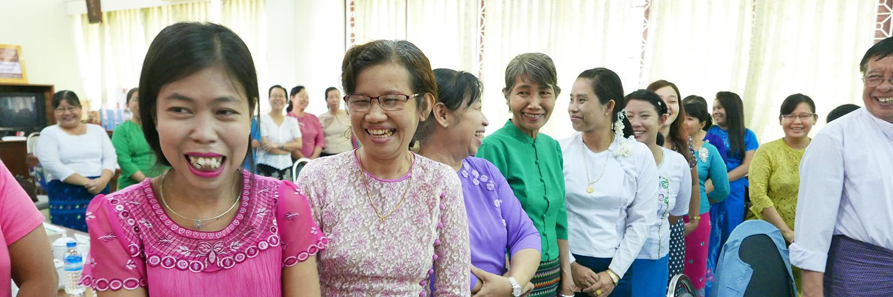SILL Participants In Yangon, Myanmar