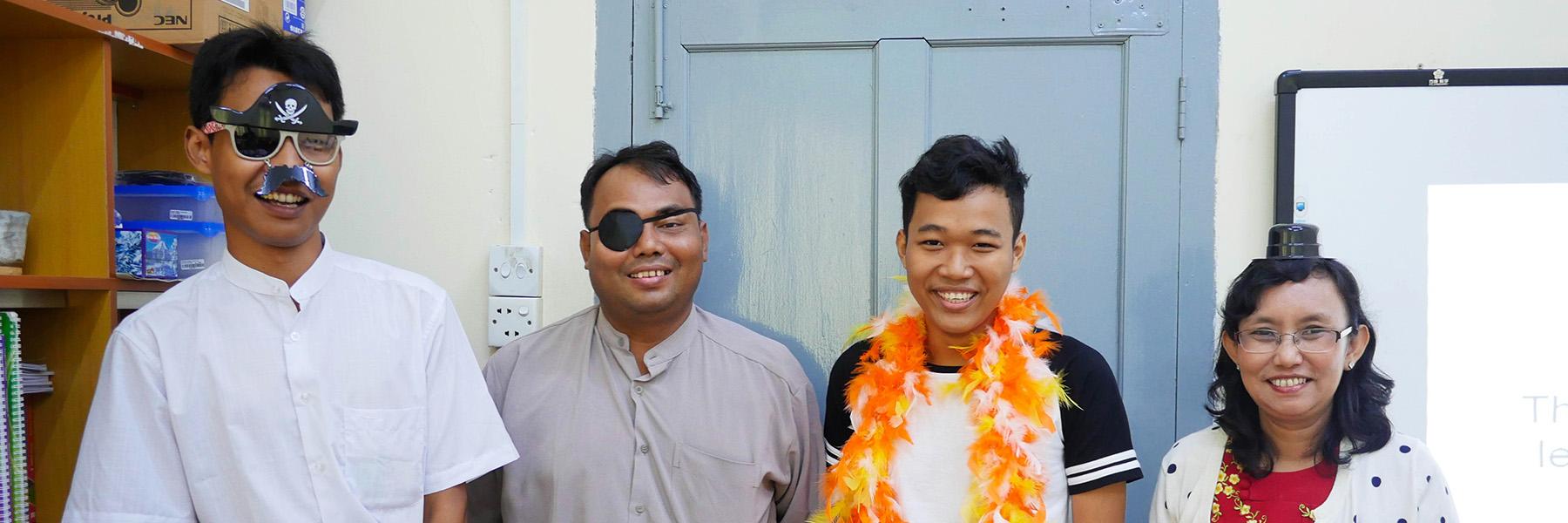 SILL Team In Yangon, Myanmar