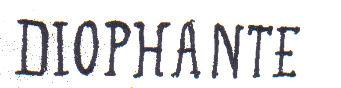 Diophante