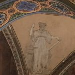Rotunda Detail, Figure with Anvil, Courtesy of Becky Burner