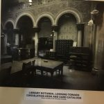 Circulation Desk, Original Configuration, Courtesy of University Archives