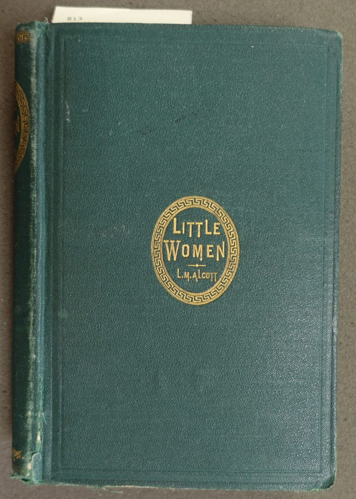 "The front cover of the first edition of ""Little Women"""