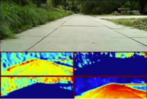 thumbnail image for Real-Time Visualization of End-To-End Learned Single Camera Based Autonomous Rover