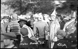 Members of Hobo Band, 1909