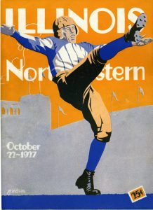 Football Program, Northwestern, 1927