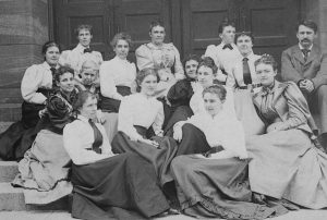 Library Science Students and Faculty, circa 1893-94