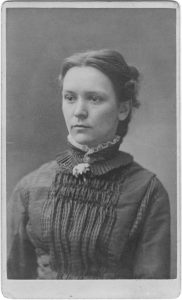 Mary Page, 1878 graduate and temperance union activist