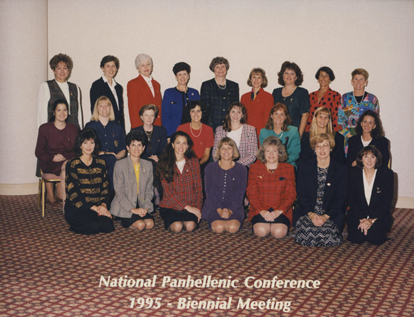 National Fraternity Conference 1995 - Biennial Meeting