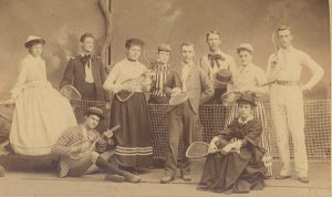 Tennis outing, 1892