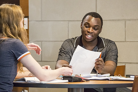 Two Students Consulting